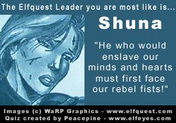 You are most like Shuna